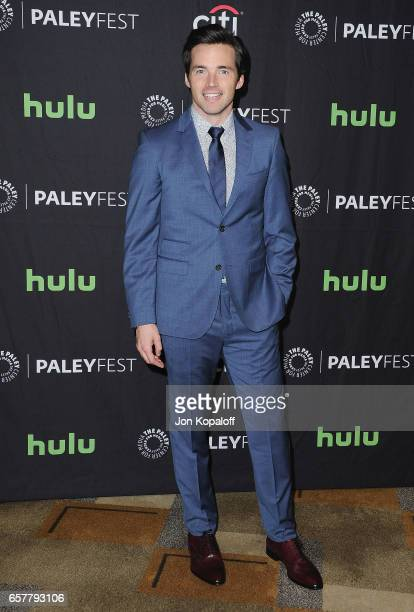 Actor Ian Harding arrives at The Paley Center For Media's 34th Annual PaleyFest Los Angeles 'Pretty Little Liars' at Dolby Theatre on March 25 2017...
