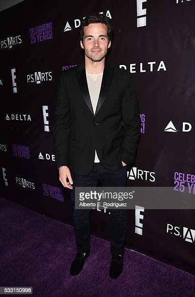 Actor Ian Harding attends PS Arts' The pARTy at NeueHouse Hollywood on May 20 2016 in Los Angeles California