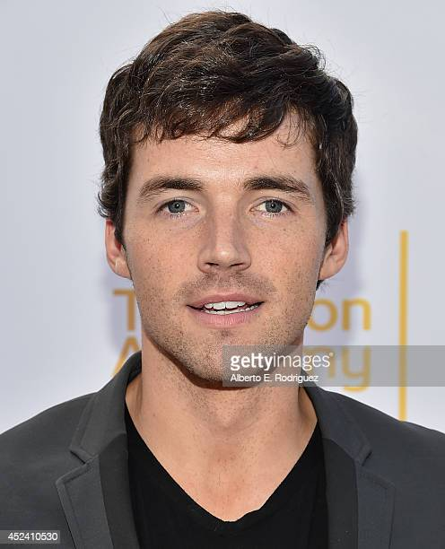 Actor Ian Harding attends the Academy of Television Arts Sciences' Costume Design Nominee Reception at FIDM Museum Galleries on the Park on July 19...