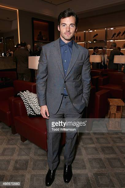 Actor Ian Harding attends The Hollywood Reporter Salvatore Ferragamo's celebration of the entertainment industry's men of style benefitting Covenant...