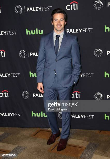 Actor Ian Harding attends The Paley Center for Media's 34th Annual PaleyFest Los Angeles presentation of 'Pretty Little Liars' at Dolby Theatre on...