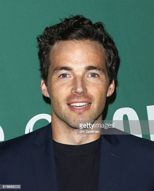 Actor Ian Harding signs copies of his new book 'Odd Birds' at Barnes Noble Union Square on May 2 2017 in New York City