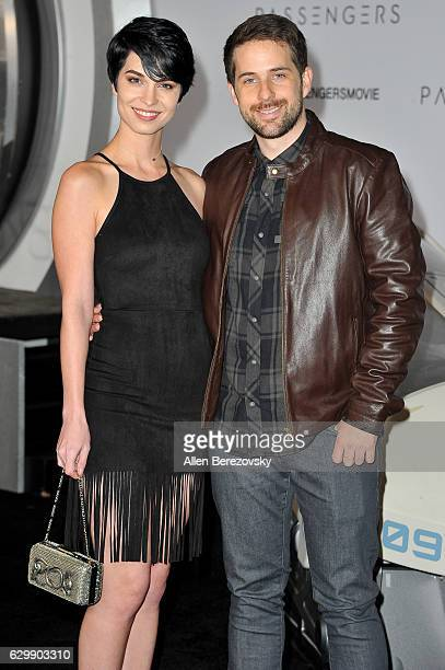 Actor Ian Hecox and a guest arrive at the Premiere of Columbia Pictures' 'Passengers' at Regency Village Theatre on December 14 2016 in Westwood...