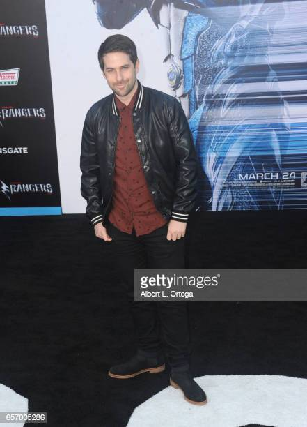 Actor Ian Hecox arrives for the Premiere Of Lionsgate's 'Power Rangers' held on March 22 2017 in Westwood California