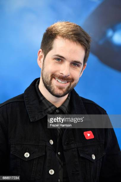 Actor Ian Hecoxarrives at the Premiere Of Warner Bros Pictures' 'Wonder Woman' at the Pantages Theatre on May 25 2017 in Hollywood California
