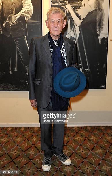 Actor Ian McKellen attends BAFTA LA Behind Closed Doors at Raleigh Studios on November 16 2015 in Los Angeles California