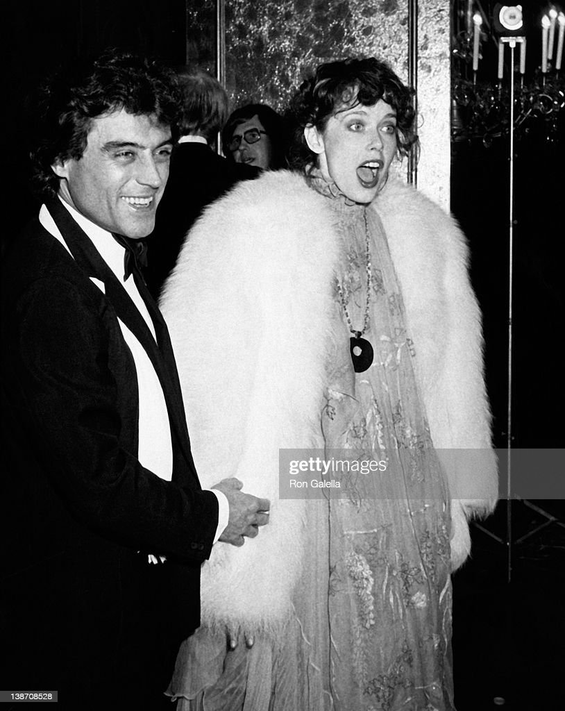Actor Ian McShane and actress <a gi-track='captionPersonalityLinkClicked' href=/galleries/search?phrase=Sylvia+Kristel&family=editorial&specificpeople=1671851 ng-click='$event.stopPropagation()'>Sylvia Kristel</a> attend 36th Annual Golden Globe Awards on January 27, 1979 at the Beverly Hilton Hotel in Beverly Hills, California.