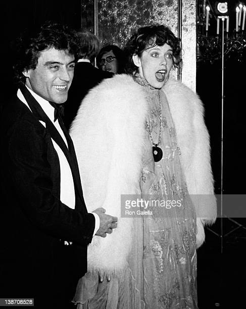 Actor Ian McShane and actress Sylvia Kristel attend 36th Annual Golden Globe Awards on January 27 1979 at the Beverly Hilton Hotel in Beverly Hills...