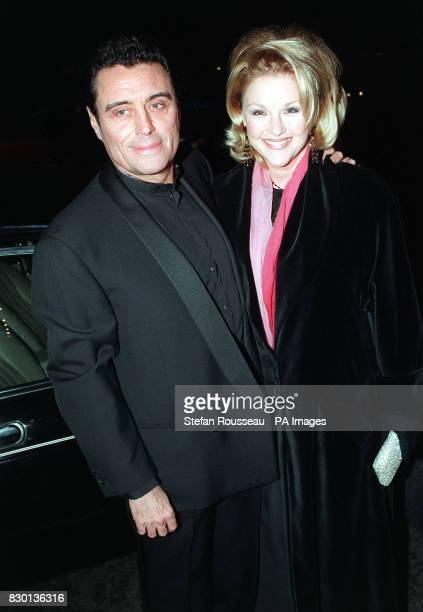 Actor Ian McShane and his wife Gwen Humble arriving at a Valentine's Ball at the Hilton Hotel in London to raise money for the Rhys Daniels Trust...