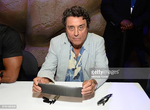 Actor Ian McShane attends the 'American Gods' autograph signing during ComicCon International at San Diego Convention Center on July 22 2016 in San...