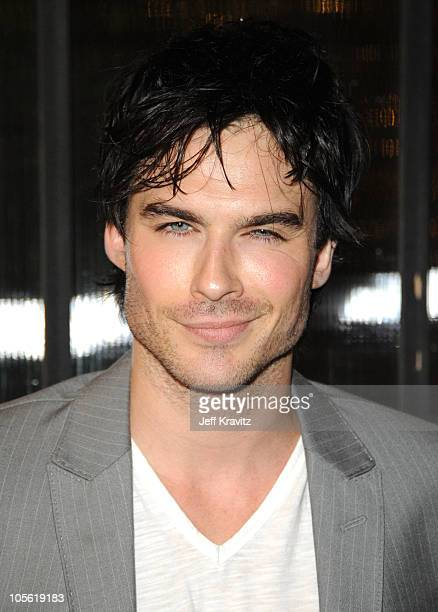 Actor Ian Somerhalder arrives at Spike TV's 'Scream 2010' at The Greek Theatre on October 16 2010 in Los Angeles California
