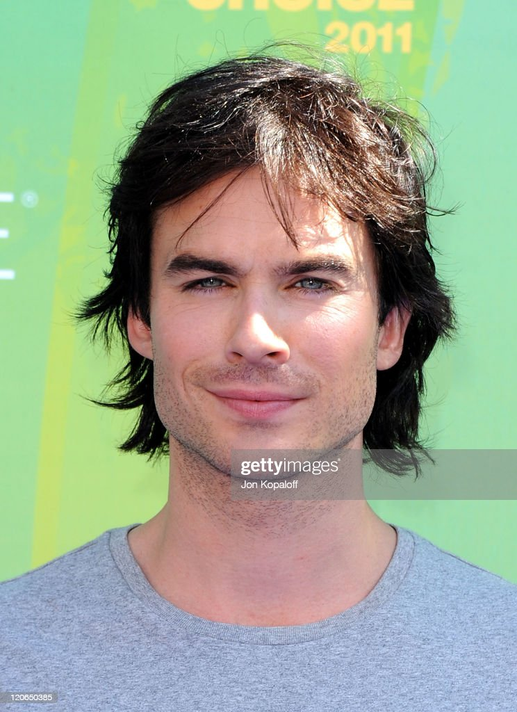 Actor <a gi-track='captionPersonalityLinkClicked' href=/galleries/search?phrase=Ian+Somerhalder&family=editorial&specificpeople=614226 ng-click='$event.stopPropagation()'>Ian Somerhalder</a> arrives at the 2011 Teen Choice Awards held at Gibson Amphitheatre on August 7, 2011 in Universal City, California.
