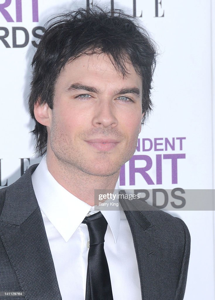 Actor Ian Somerhalder arrives at the 2012 Film Independent Spirit Awards at Santa Monica Pier on February 25, 2012 in Santa Monica, California.