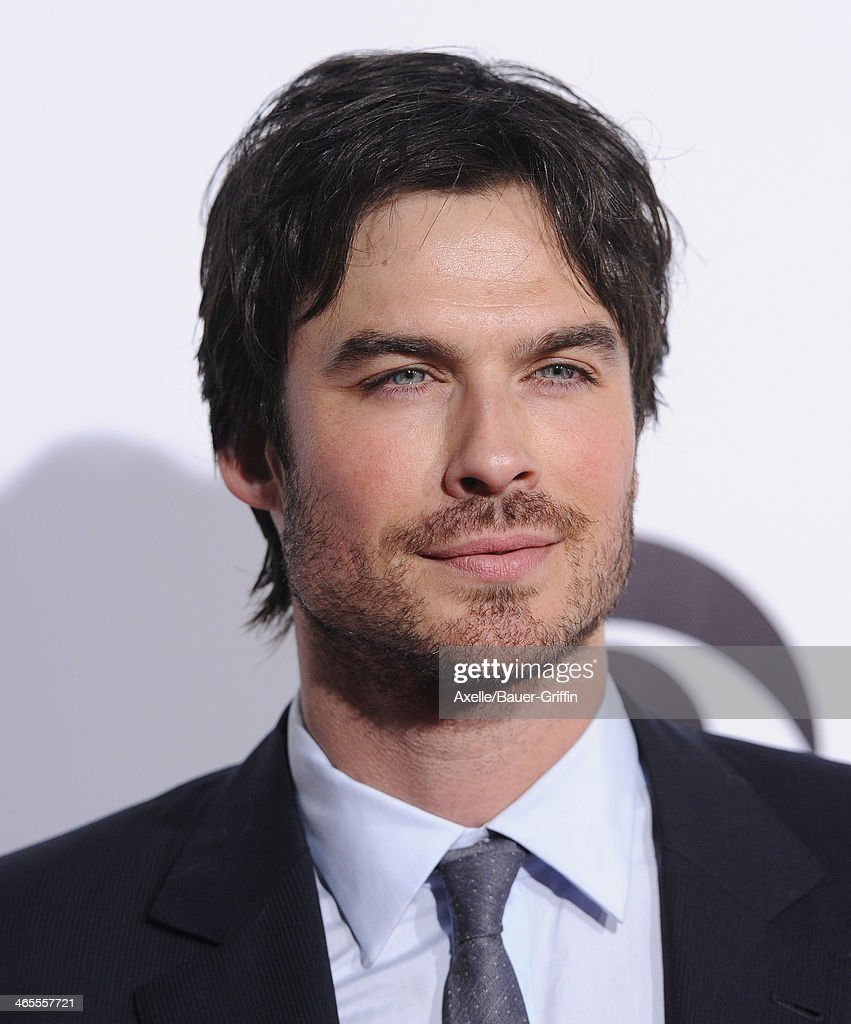 Actor Ian Somerhalder arrives at The 40th Annual People's Choice Awards at Nokia Theatre L.A. Live on January 8, 2014 in Los Angeles, California.