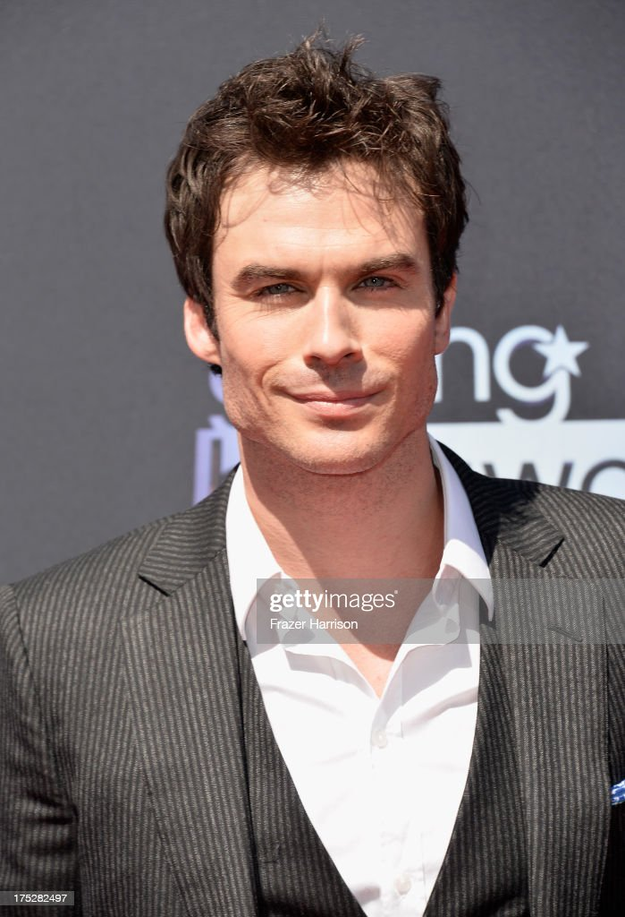 Actor <a gi-track='captionPersonalityLinkClicked' href=/galleries/search?phrase=Ian+Somerhalder&family=editorial&specificpeople=614226 ng-click='$event.stopPropagation()'>Ian Somerhalder</a> attends CW Network's 2013 Young Hollywood Awards presented by Crest 3D White and SodaStream held at The Broad Stage on August 1, 2013 in Santa Monica, California.