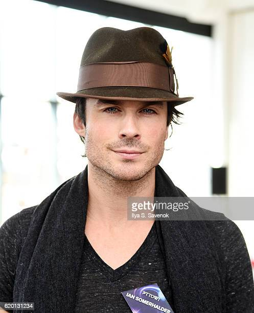 Actor Ian Somerhalder attends PTTOW SESSIONS and WORLDZ Kickoff Party at Spring Place on November 1 2016 in New York City