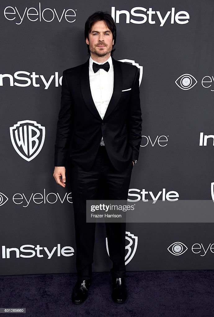 Actor Ian Somerhalder attends the 18th Annual Post-Golden Globes Party hosted by Warner Bros. Pictures and InStyle at The Beverly Hilton Hotel on January 8, 2017 in Beverly Hills, California.