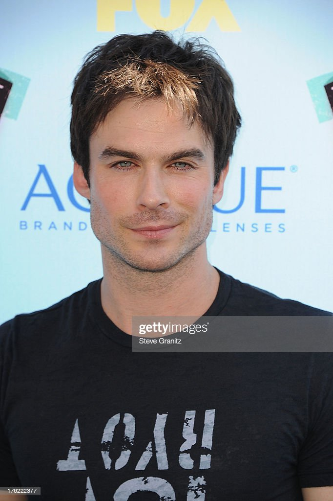 Actor Ian Somerhalder attends the 2013 Teen Choice Awards at Gibson Amphitheatre on August 11, 2013 in Universal City, California.