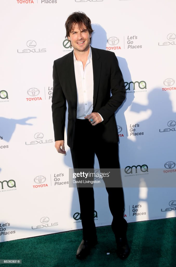 Actor Ian Somerhalder attends the 27th Annual EMA Awards at Barker Hangar on September 23, 2017 in Santa Monica, California.