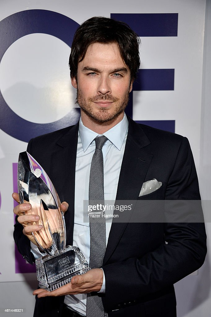 Actor Ian Somerhalder attends The 40th Annual People's Choice Awards at Nokia Theatre L.A. Live on January 8, 2014 in Los Angeles, California.