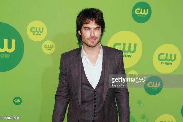 Actor Ian Somerhalder attends The CW Network's New York 2013 Upfront Presentation at The London Hotel on May 16 2013 in New York City