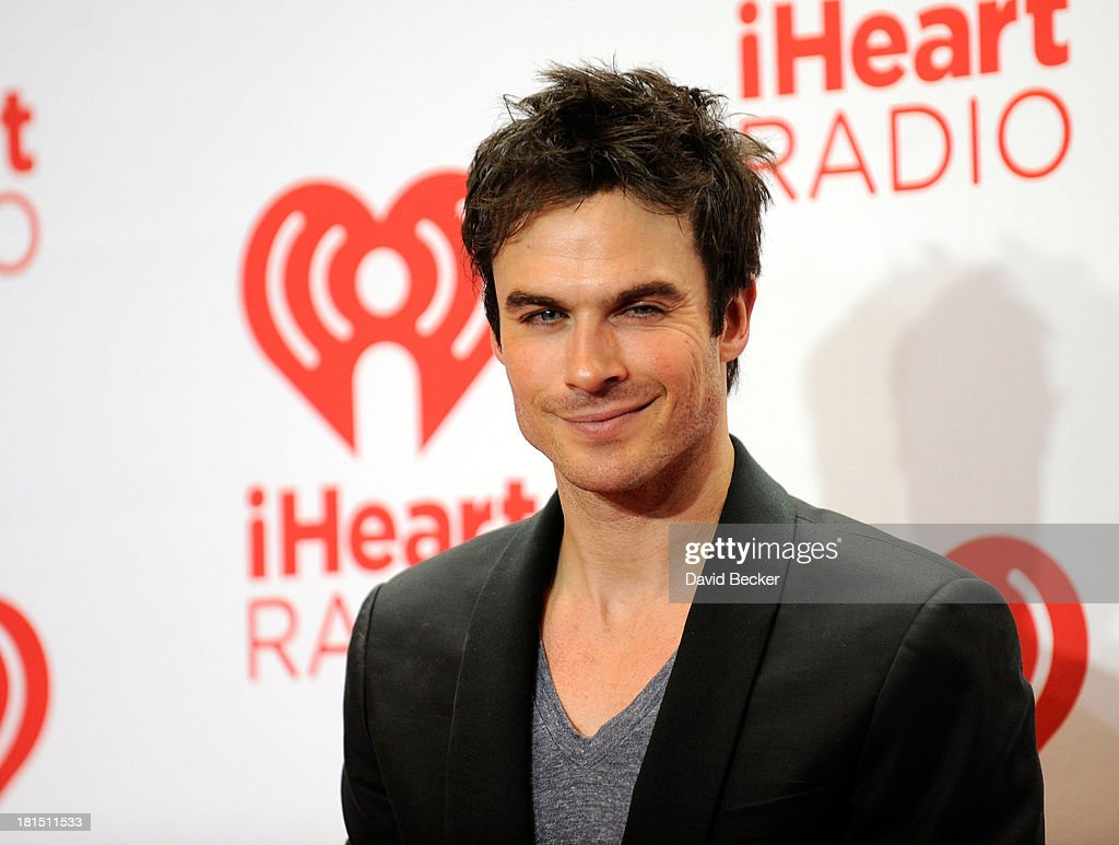Actor Ian Somerhalder attends the iHeartRadio Music Festival at the MGM Grand Garden Arena on September 21, 2013 in Las Vegas, Nevada.