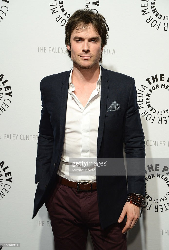 Actor <a gi-track='captionPersonalityLinkClicked' href=/galleries/search?phrase=Ian+Somerhalder&family=editorial&specificpeople=614226 ng-click='$event.stopPropagation()'>Ian Somerhalder</a> attends The Paley Center For Media's PaleyFest 2014 Honoring 'Lost: 10th Anniversary Reunion' at Dolby Theatre on March 16, 2014 in Hollywood, California.