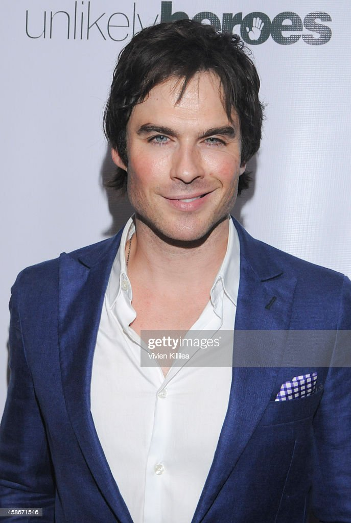 Actor <a gi-track='captionPersonalityLinkClicked' href=/galleries/search?phrase=Ian+Somerhalder&family=editorial&specificpeople=614226 ng-click='$event.stopPropagation()'>Ian Somerhalder</a> attends the Unlikely Heroes' 3rd Annual Awards Dinner And Gala at Sofitel Hotel on November 8, 2014 in Los Angeles, California.