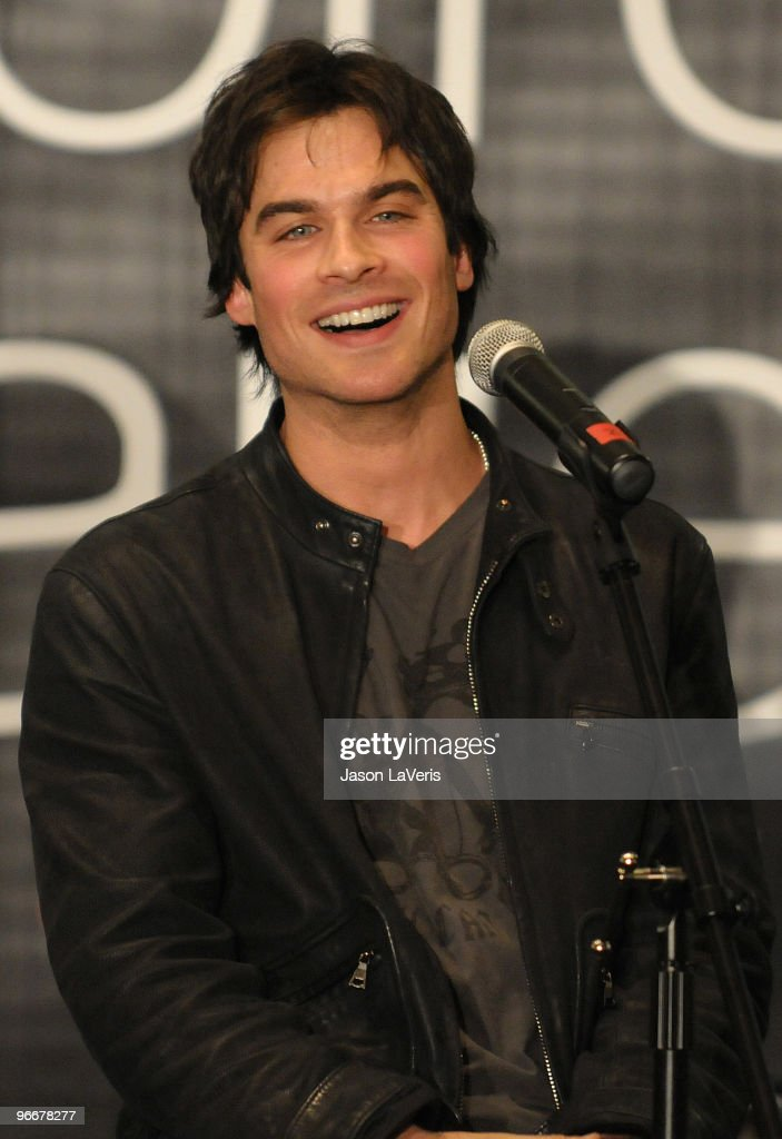Actor Ian Somerhalder attends 'The Vampire Diaries' Hot Topic tour at Hot Topic on February 13, 2010 in Canoga Park, California.