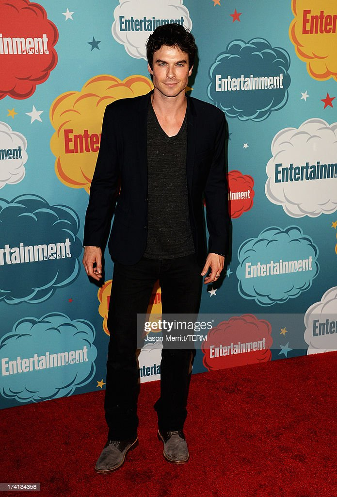 Actor Ian Sommerholder attends Entertainment Weekly's Annual Comic-Con Celebration at Float at Hard Rock Hotel San Diego on July 20, 2013 in San Diego, California.