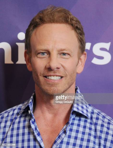 Actor Ian Ziering arrives at the 2014 Television Critics Association Summer Press Tour NBCUniversal Day 2 at The Beverly Hilton Hotel on July 14 2014...