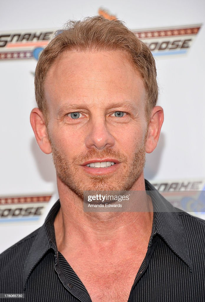 Actor <a gi-track='captionPersonalityLinkClicked' href=/galleries/search?phrase=Ian+Ziering&family=editorial&specificpeople=622264 ng-click='$event.stopPropagation()'>Ian Ziering</a> arrives at the premiere of 'Snake & Mongoo$e' at the Egyptian Theatre on August 26, 2013 in Hollywood, California.