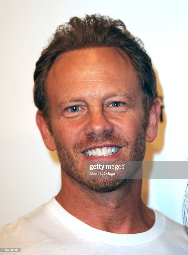 Actor <a gi-track='captionPersonalityLinkClicked' href=/galleries/search?phrase=Ian+Ziering&family=editorial&specificpeople=622264 ng-click='$event.stopPropagation()'>Ian Ziering</a> arrives for the Premiere Of The Asylum & Fathom Events' 'Sharknado 2: The Second One' held at Regal Cinemas L.A. Live on August 21, 2014 in Los Angeles, California.