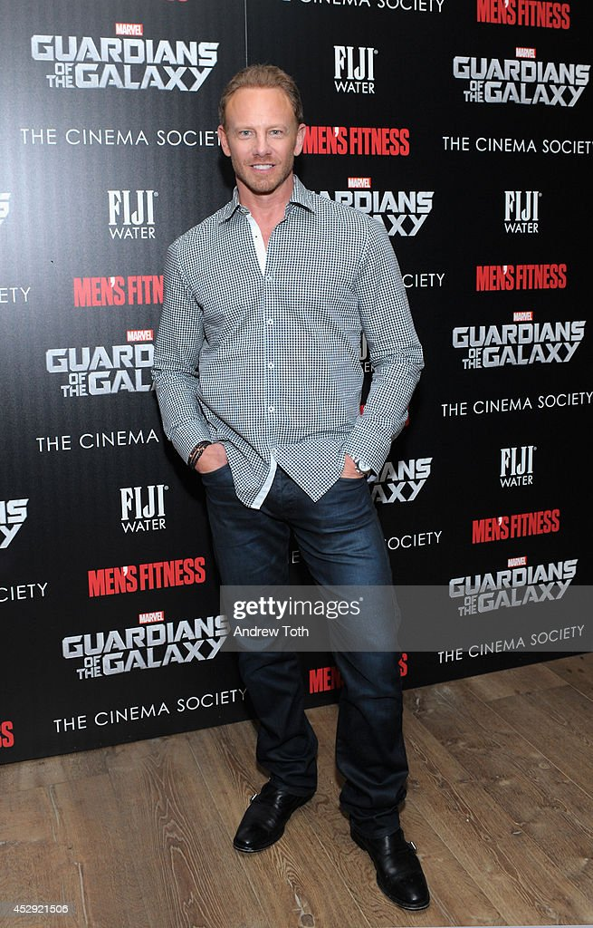 Actor <a gi-track='captionPersonalityLinkClicked' href=/galleries/search?phrase=Ian+Ziering&family=editorial&specificpeople=622264 ng-click='$event.stopPropagation()'>Ian Ziering</a> attends The Cinema Society with Men's Fitness & FIJI Water host a screening of 'Guardians of the Galaxy' on July 29, 2014 in New York City.