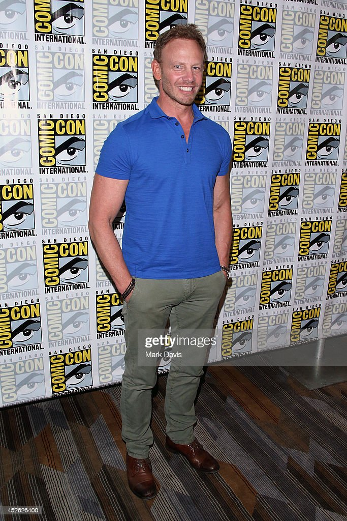 Actor Ian Ziering attends the 'Sharknado The Second One' press line during ComicCon International 2014 at Hilton Bayfront on July 24 2014 in San...