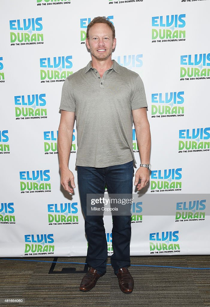 "Ian Ziering Visits ""The Elvis Duran Z100 Morning Show"""