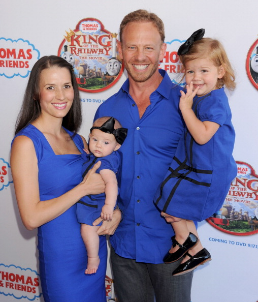 Photo of Ian Ziering & his  Daughter  Penna Mae Ziering