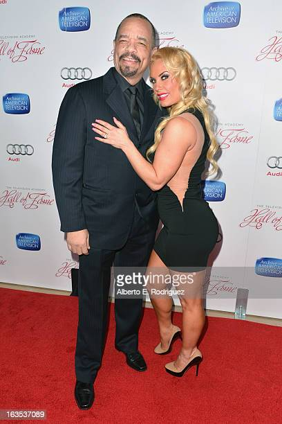Actor IceT and TV personality Coco Austin attend the Academy of Television Arts Sciences' 22nd Annual Hall of Fame Induction Gala at The Beverly...