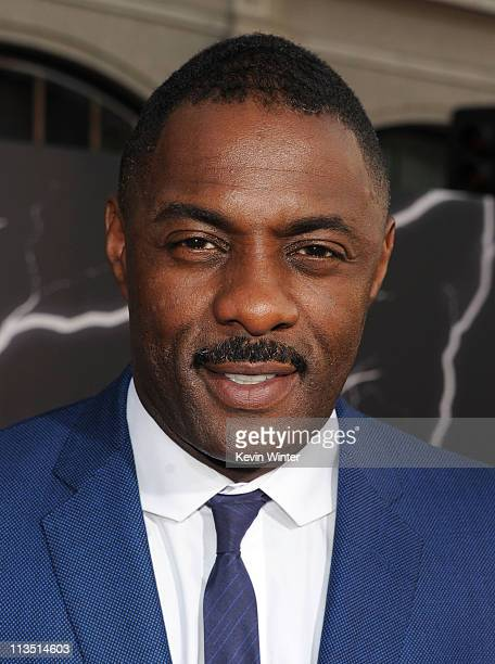 Actor Idris Alba arrives at the premiere of Paramount Pictures' and Marvel's 'Thor' held at the El Capitan Theatre on May 2 2011 in Los Angeles...