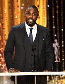 Actor Idris Elba accepts the Male Actor in a Supporting Role award for 'Beasts of No Nation' onstage during The 22nd Annual Screen Actors Guild...