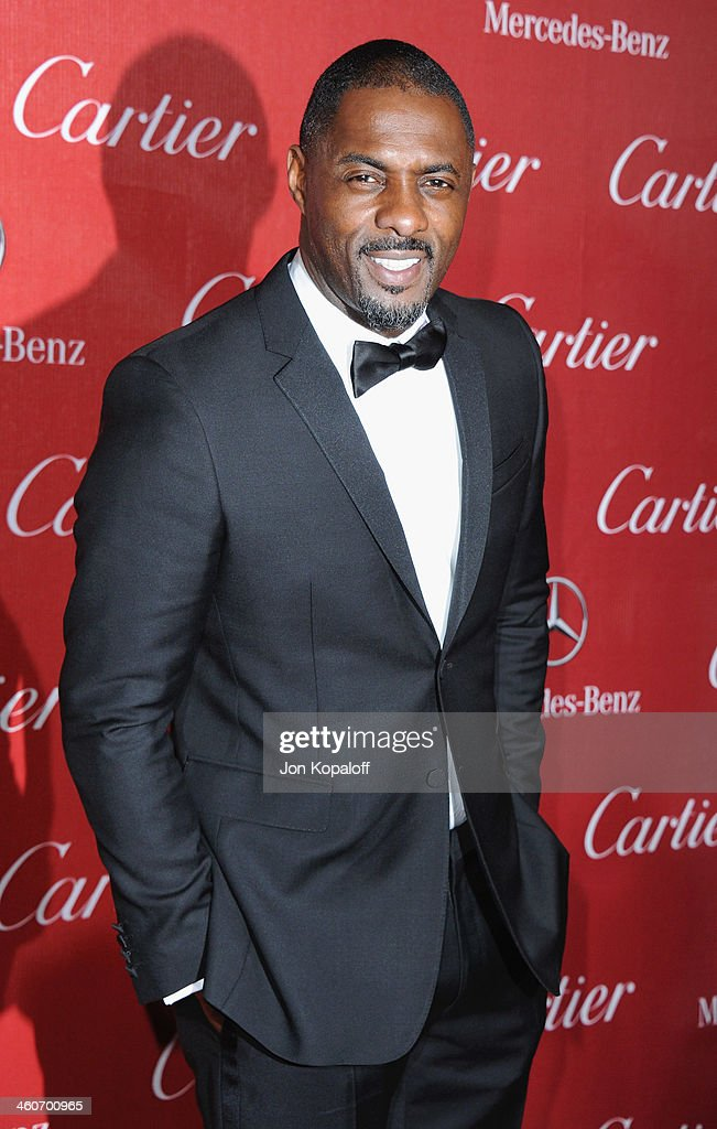 Actor <a gi-track='captionPersonalityLinkClicked' href=/galleries/search?phrase=Idris+Elba&family=editorial&specificpeople=215443 ng-click='$event.stopPropagation()'>Idris Elba</a> arrives at the 25th Annual Palm Springs International Film Festival Awards Gala at Palm Springs Convention Center on January 4, 2014 in Palm Springs, California.