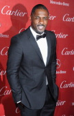 Actor Idris Elba arrives at the 25th Annual Palm Springs International Film Festival Awards Gala at Palm Springs Convention Center on January 4 2014...