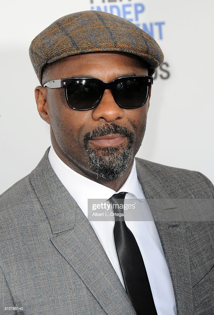 Actor Idris Elba arrives for the 2016 Film Independent Spirit Awards held on February 27 2016 in Santa Monica California
