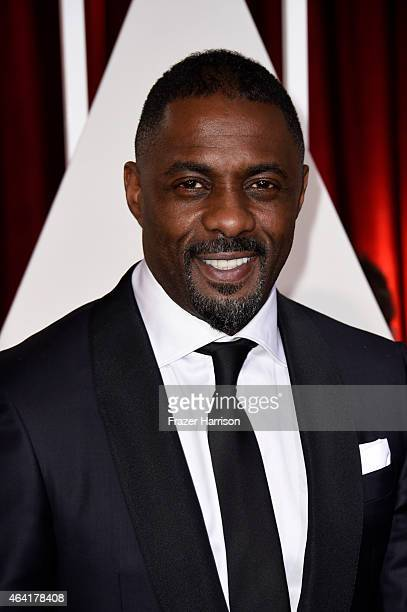 Actor Idris Elba attends the 87th Annual Academy Awards at Hollywood Highland Center on February 22 2015 in Hollywood California