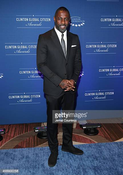 Actor Idris Elba attends the 8th Annual Clinton Global Citizen Awards at Sheraton Times Square on September 21 2014 in New York City