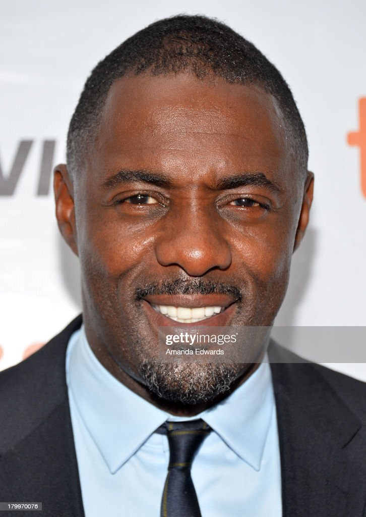 Actor <a gi-track='captionPersonalityLinkClicked' href=/galleries/search?phrase=Idris+Elba&family=editorial&specificpeople=215443 ng-click='$event.stopPropagation()'>Idris Elba</a> attends the 'Mandela: Long Walk To Freedom' premiere during the 2013 Toronto International Film Festival at Roy Thomson Hall on September 7, 2013 in Toronto, Canada.