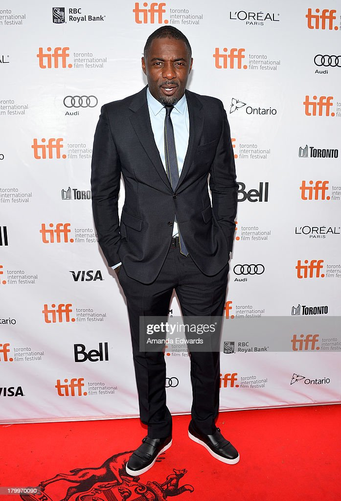 Actor Idris Elba attends the 'Mandela: Long Walk To Freedom' premiere during the 2013 Toronto International Film Festival at Roy Thomson Hall on September 7, 2013 in Toronto, Canada.