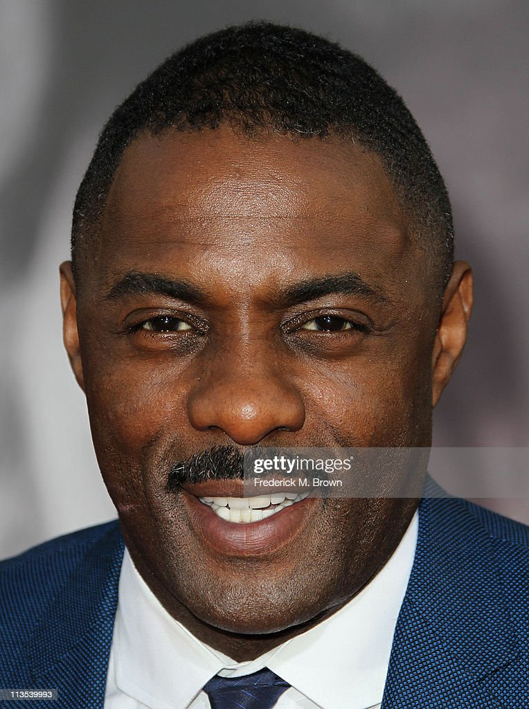 Actor <a gi-track='captionPersonalityLinkClicked' href=/galleries/search?phrase=Idris+Elba&family=editorial&specificpeople=215443 ng-click='$event.stopPropagation()'>Idris Elba</a> attends the Premiere of Paramount Pictures' and Marvel's 'Thor' at the El Capitan Theater on May 2, 2011 in Los Angeles, California.
