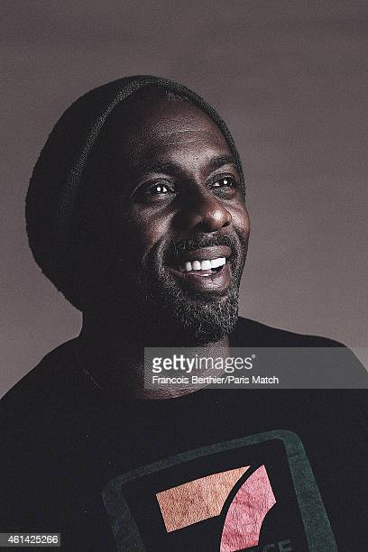 Actor Idris Elba is photographed for Paris Match on November 4 2014 in Paris France