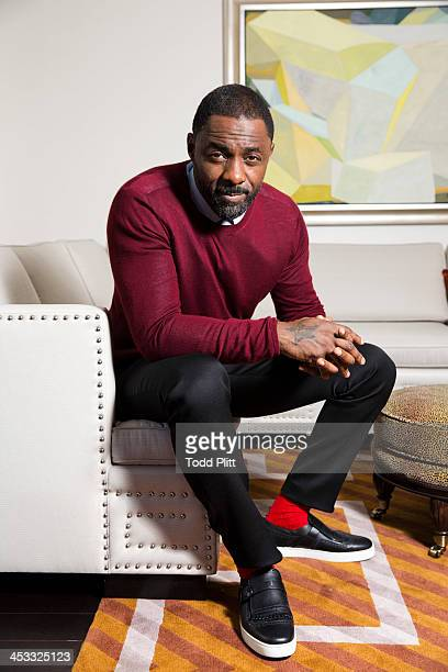 Actor Idris Elba is photographed for USA Today on November 23 2013 in New York City
